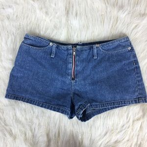 Vintage Timmy Hilfiger Jean Shorts logo